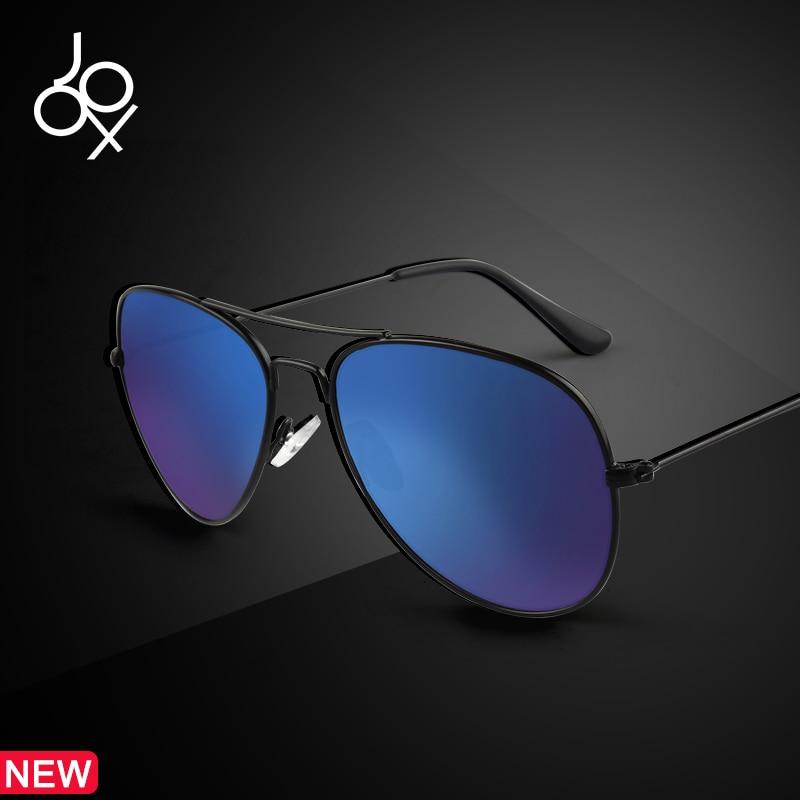1123736bd6 Comprar Vintage piloto polarizado gafas de sol hombres negro Marco de  espejo azul gafas de sol Retro de conducción gafas de sol UV400 lentes de  sol de mujer ...