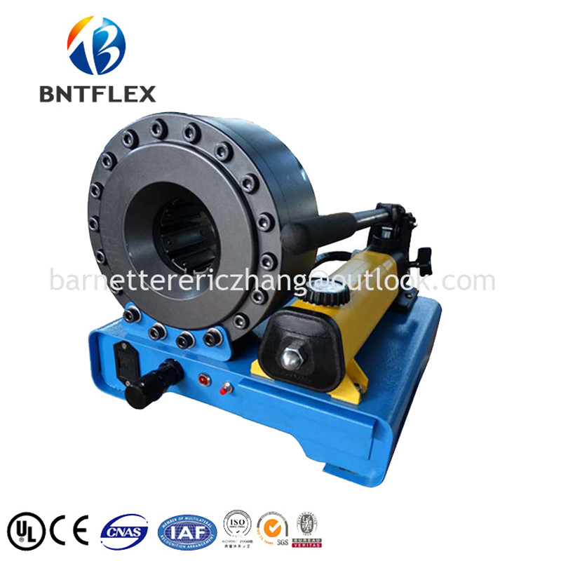 US $1699 0 |2018 BARNETT BNT30A P20 hydraulic hose crimping machine up to  1