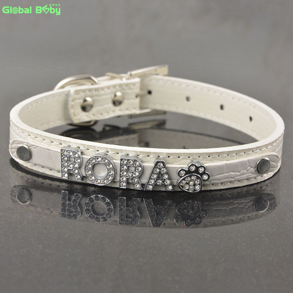 5 Colors Snake Pu Қожа 10MM Free Letters and Charm Name Dog Pet - Үй жануарлары өнімдері - фото 3