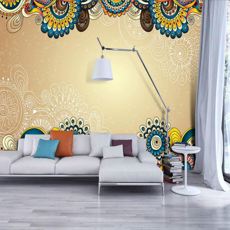 3D Wallpaper for Walls 3d Decorative Wall Paper Background Painting ...