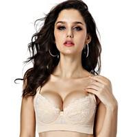 Intimates big size bra Seamless Healthy 100% Natural silk sexy bra big size lingerie deporte sujetador women bra push up bra CD