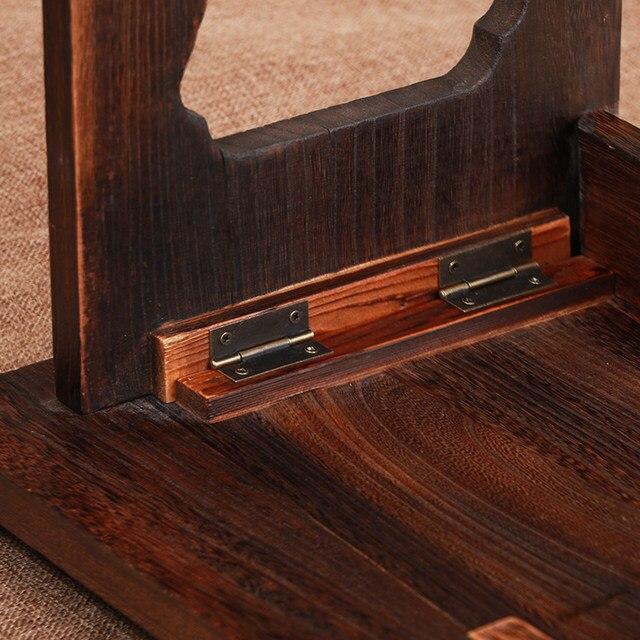 Asian Antique Furniture Japanese Floor Table Folding Leg Rectangle 80x45cm  Living Room Wooden Laptop Desk Coffee Table Folding - Online Shop Asian Antique Furniture Japanese Floor Table Folding Leg