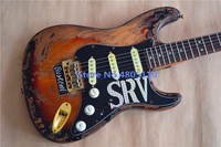 Firehawk electric guitar free delivery antique relic real photo.Free shipping