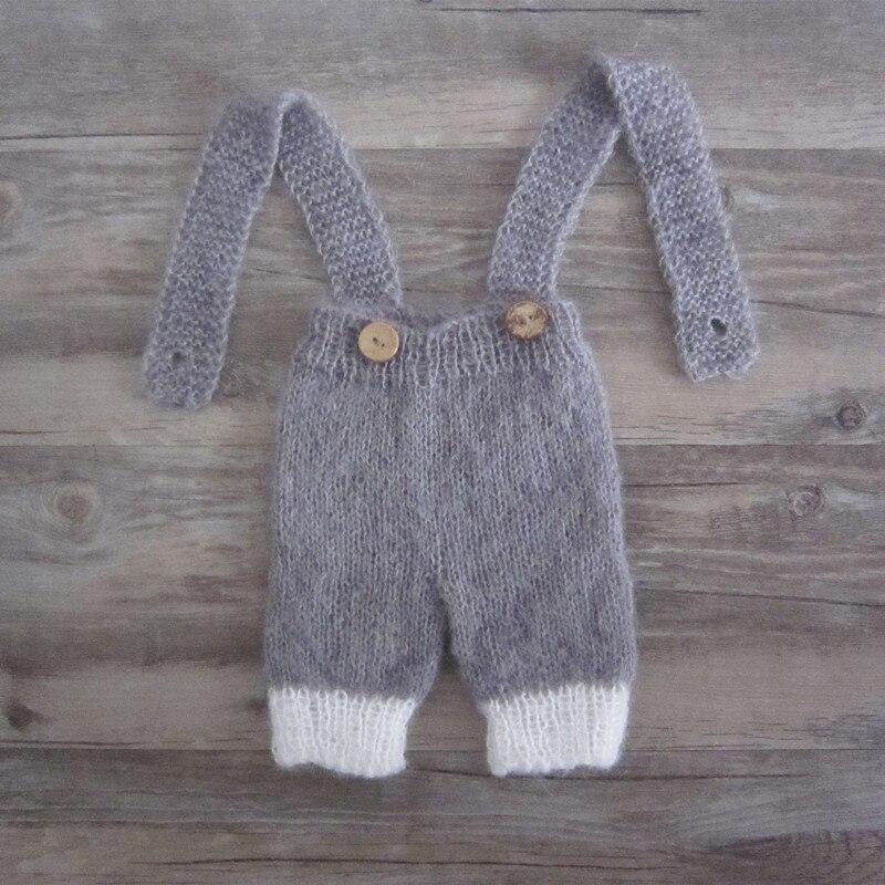 Artesanal, macacões, calças de cor personalizada, adereços foto do bebê