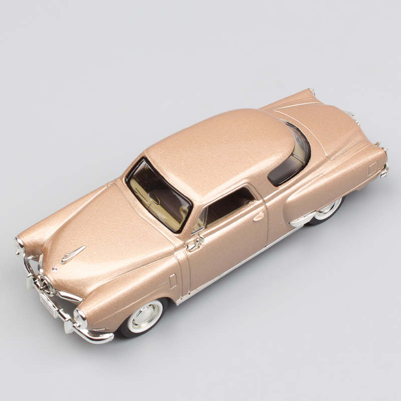 Kid's 1/43 Scale Brand Mini Classic 1950 STUDEBAKER CHAMPION Deluxe Metal Die-cast Detailed Replica Car Vehicle Hobby New In Box