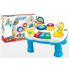 Musical Baby Development Desk Game Table Growing Baby Pop U0027n Activity Table  Baby Learning Walker