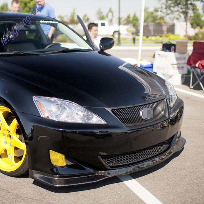 2006 Lexus Is 250 Awd For Sale: Front Bumper Lip Carbon Fiber ForLexus IS250 IS300 IS350
