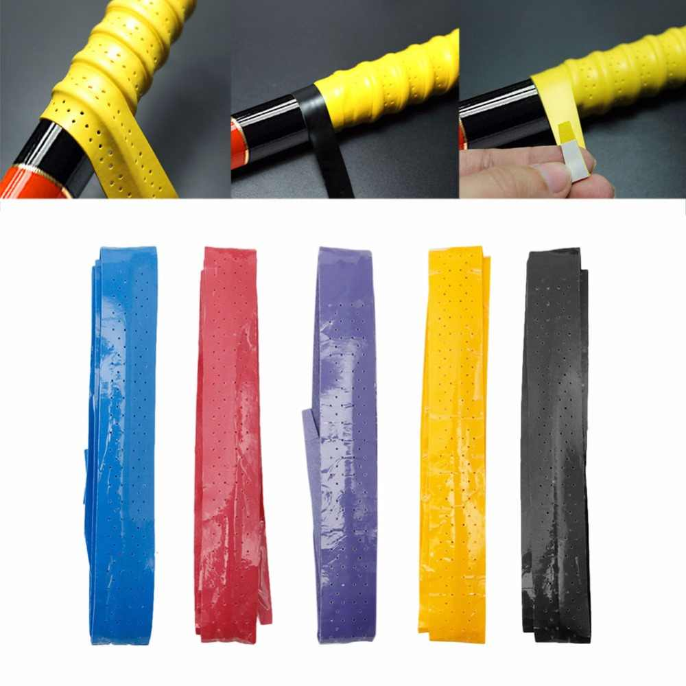 Anti-slip Absorb Sweat Racket Tape Handle Grip For Tennis Badminton Squash Band