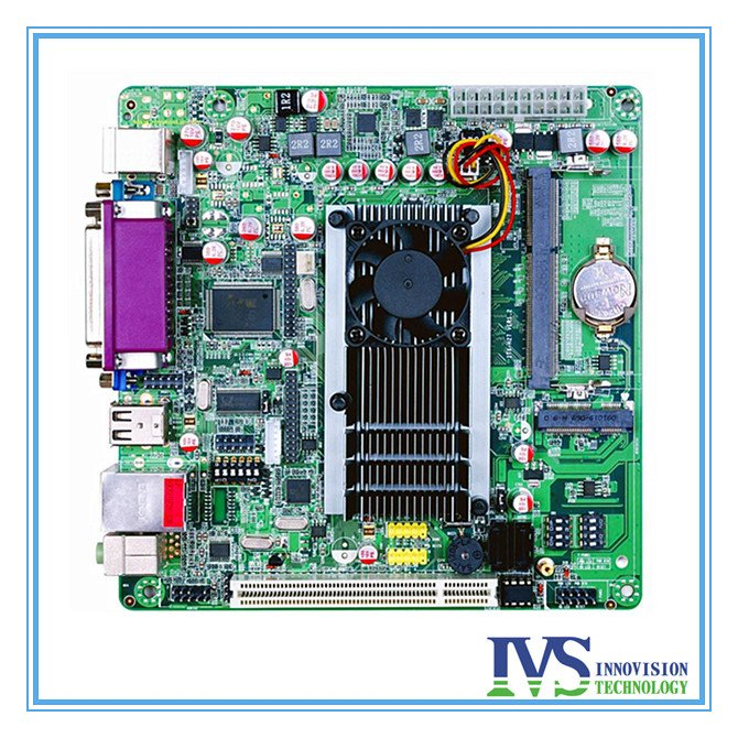 Atom D2700 Mini Itx Mainboard For Industrial Computer/ POS / Integrated Computer Moterboard  2.13GHz Dual 8LVDS 5COM ATX PSU