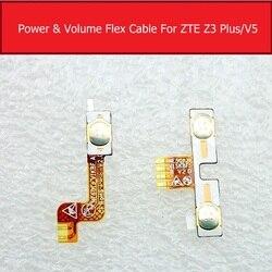 Volume e botão de energia cabo flexível para zte blade hn v993w l3 plus l3 + volume power side-chave interruptor ligado e desligado flex fita peças