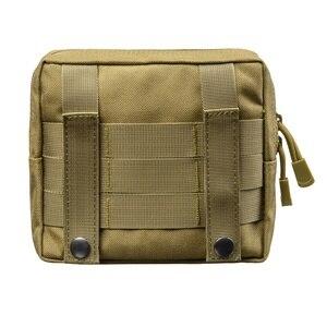 Image 3 - Sac de ceinture militaire tactique 1000D, pour lextérieur, outil EDC Molle, fermeture éclair, sac de ceinture pour accessoire, pochette Durable, nouveauté, 2019