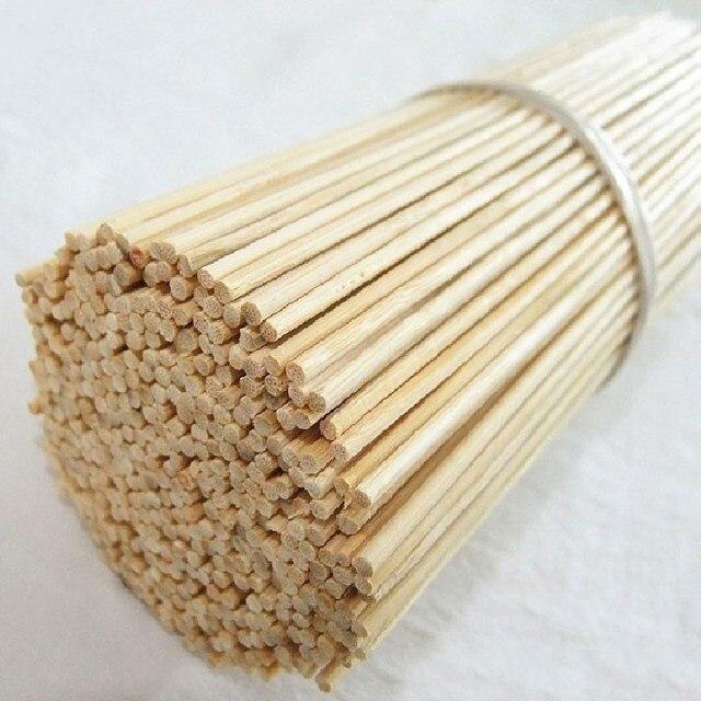30 cm 100 pz Di Bambù di Legno Barbecue Spiedi Spiedi Alimentare A Base di Carne