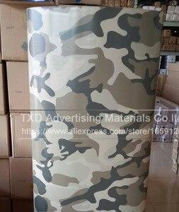 Image 4 - Buona qualità Auto Diverse Per Lo Styling Grande Digital Woodland Green Camo Camouflage Pellicola Del Vinile Wrap Sticker Desert Camouflage pellicola