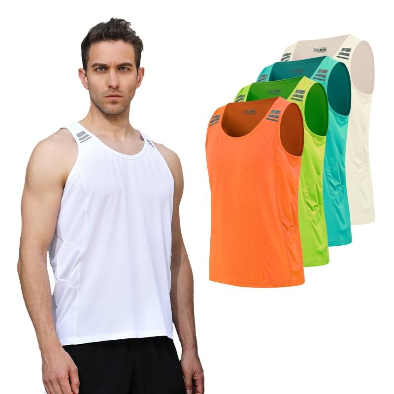 Mens Running Vest Gym Sleeveless Shirt Summer Slim Tank XS-3XL 2018 Men Sport Vest Top New Workout Training Man Singlet недорго, оригинальная цена