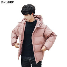 GYMLOCKER NEW Winter parka men high quality winter coat Fashion Overcoat clothes Jackets Mens Warm and windproof Male parkas