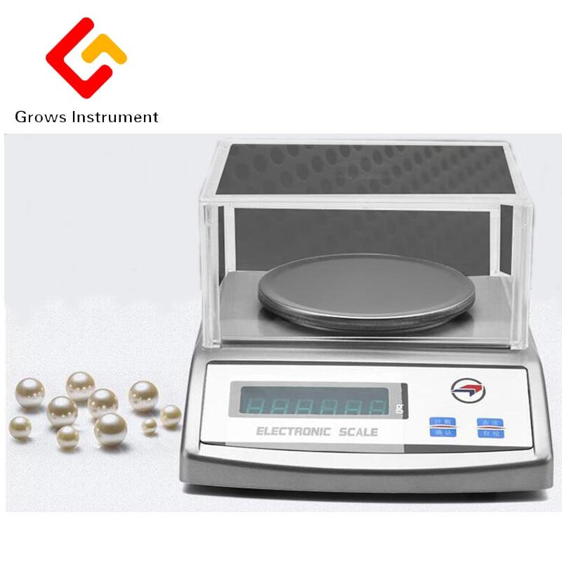 Balance numérique 0.01 3000g laboratoire analyse expérimentale de haute précision Balance électronique Mini Balance poids