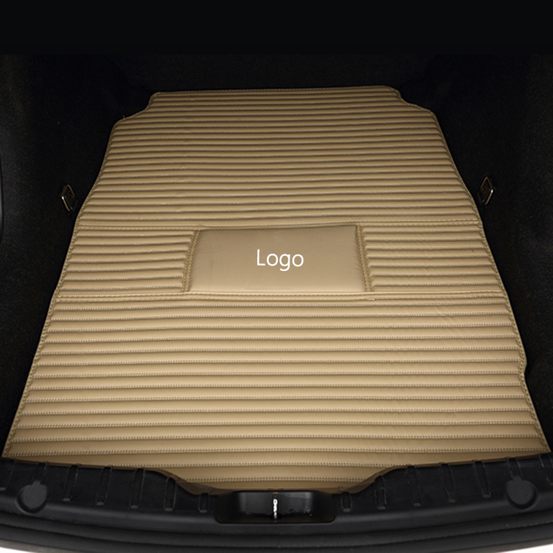 Special car trunk mats for Citroen All Models c4 c5 c2 c3 drain BLACK/GRAY/RED/BLUE car accessories car styling auto Cargo Liner car rear trunk security shield cargo cover for volkswagen vw tiguan 2016 2017 2018 high qualit black beige auto accessories