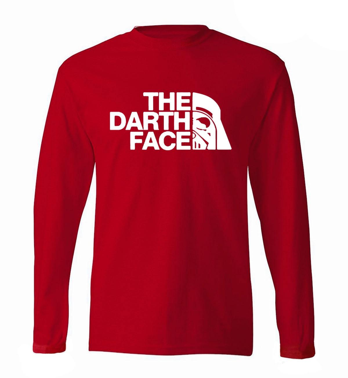 Star Wars  Vader print men long sleeve t-shirt 2019 new spring 100% cotton high quality hip hop style slim t shirt
