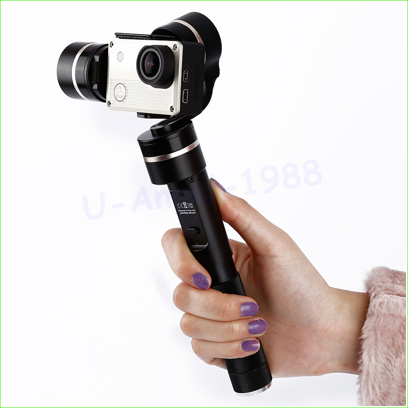 1pcs 3-axis Brushless Handheld Gimbal Stabiliser Sports Cameras FY-G4 FY-G4QD FY-G4GS for cameras yuneec q500 typhoon quadcopter handheld cgo steadygrip gimbal black