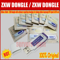 The Latest Version 100 Original ZXW Dongle With Software Repairing Drawings For Iphone Nokia Samsung HTC