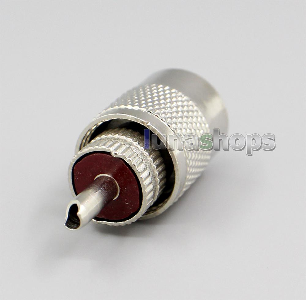 LN002230 UHF Male PL259 solder RG58 RG142 LMR195 RG400 RF Antenna connector Adapter Shipping By EMS