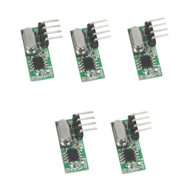 5pcs High Sensitivity RX500 315mhz Superheterodyne RF Relay Receiver Module For ASK UHF Arduino Uno Remote Control Light DIY Y3
