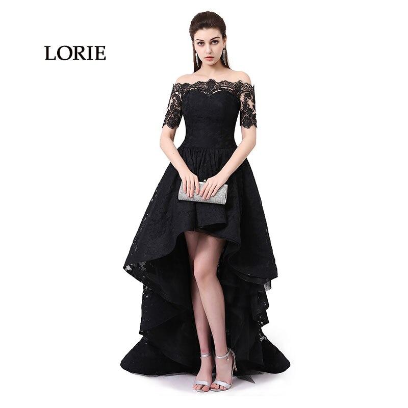 فساتين سهرة سوداء تصميمات مختلفه قصير وطويل رائعة التصميم