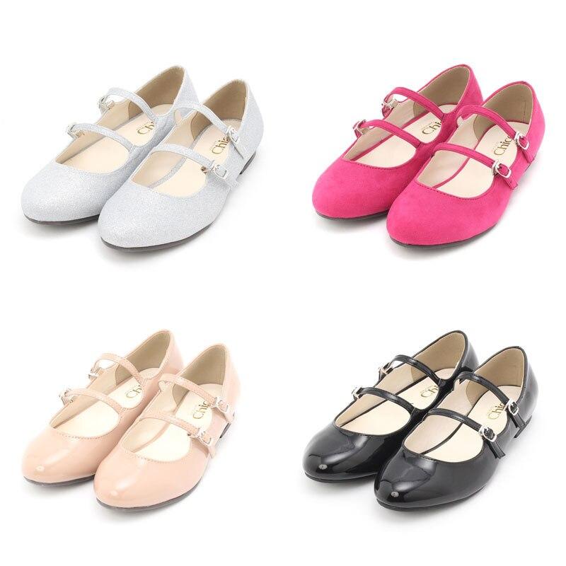 Livraison gratuite 2019 nouvelle Lolita japonaise rétro douce tête ronde et bouche peu profonde avec semelle plate Ballet unique chaussure Mary Jane
