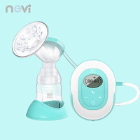 Ncvi Electric Breast Pump Lithium Battery Rechargeable Silicone Massage Breastfeeding Pull Out Electric Milk Extractor XB 8617 1