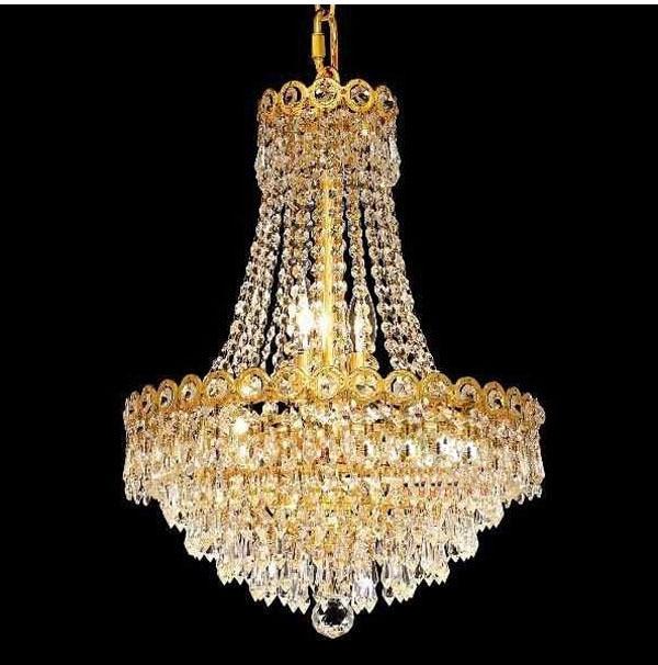 Gold Crystal Pendant Light Lighting Modern Chrome Crystal Pendant Lights Fixture (Diameter 40cm ,50cm or 60cm)+Free shipping !