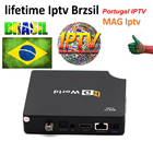 lifetime Iptv MAG Brzsil Linux TV Box support Latin channel 600+ Portuguese and Brazil Sports Kids Music Movies iptv Brazil BOX