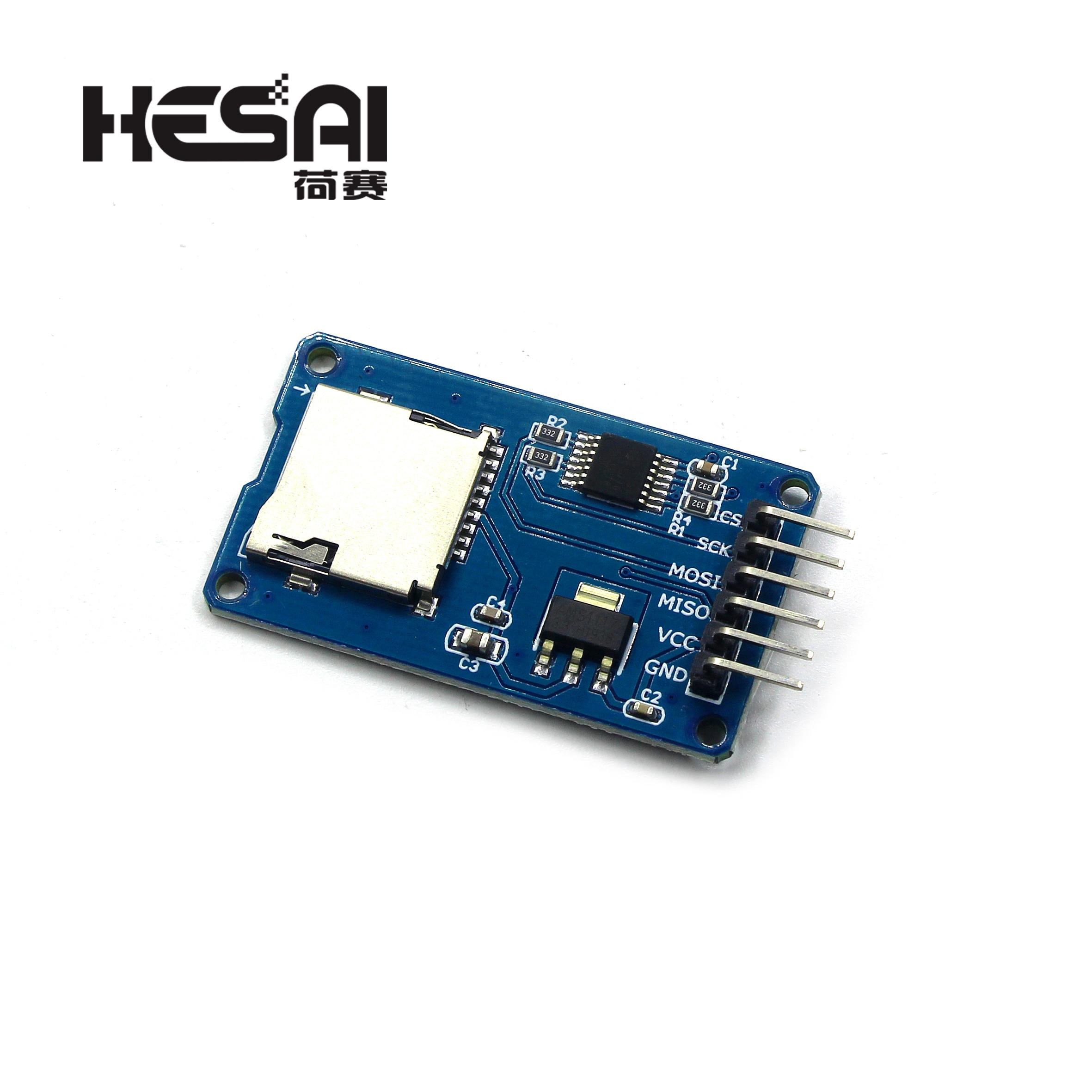 Smart Electronics Micro SD Mini Storage Board TF Card Reader Memory Shield Module SPI for arduino Diy Kit