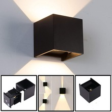 Dimmable LED Modern Wall Light with Adjustable Beam Angle De