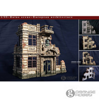 OHS CrazyKing DY35003 1/35 Ruins Scene European Architecture 3rd Ver. Assembly Resin Miniatures Accessories Model Kits oh