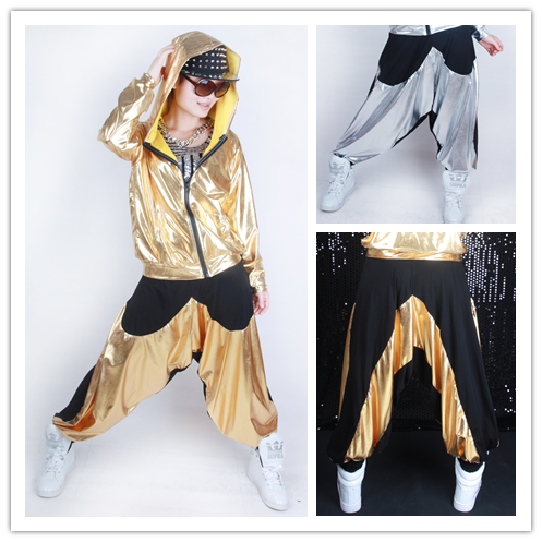 Kids Adults Loose Harem Hip Hop Dance Pants Casual