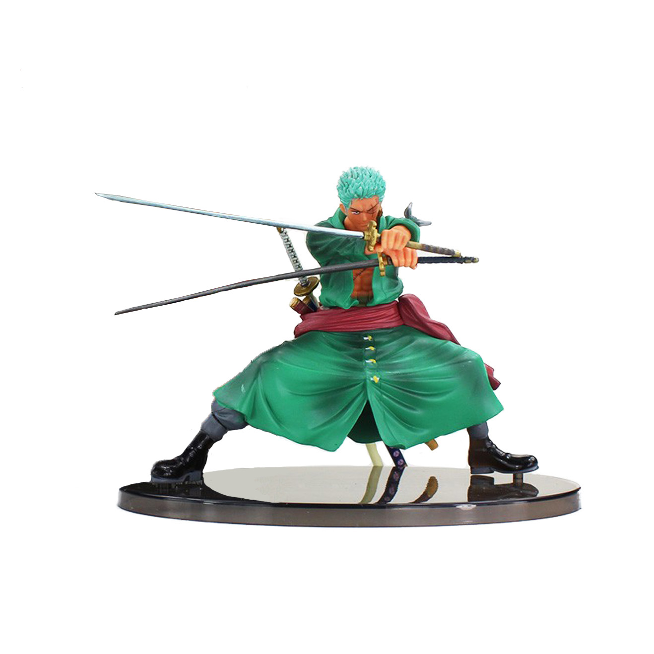 Chanycore Anime ONE PIECE Scultures Two Years Later New World Zoro 13cm Action Figures PVC onepiece toys doll model collection