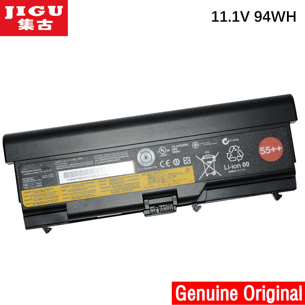 jigu 42t4817 42t4819 42t4848 original laptop battery for. Black Bedroom Furniture Sets. Home Design Ideas