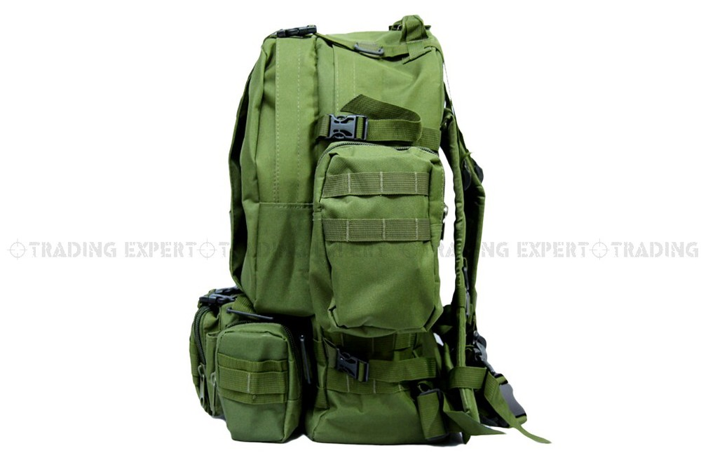 Campcookingsupplies cg-01 Sports & Entertainment Intelligent Outdoor Military Tactical Backpack Us Army Tactical Molle Assault Backpack Bag Multicam Acu Dark Green Bk