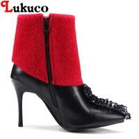 2018 Sweet Lady Ankle Boots Large CN Size 34 35 36 37 38 39 40 41