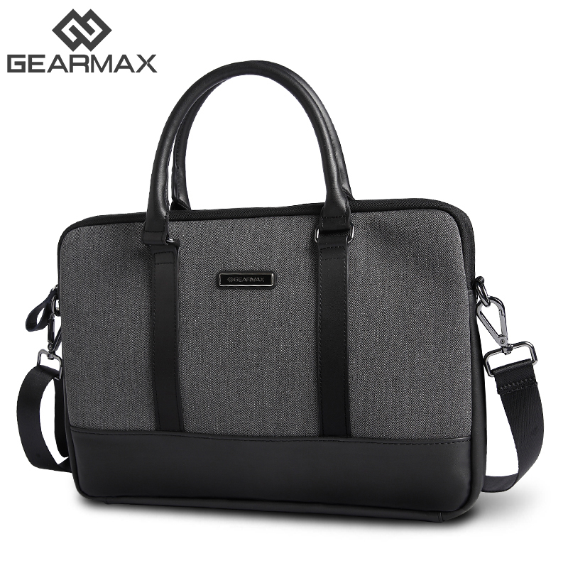 GEARMAX Fashion 11,12,13,14 15 inch Laptop Bag Notebook Shoulder Messenger Bag Men Women Handbag Sleeve for Macbook Air Pro Case