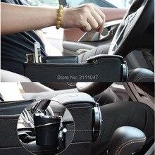 1 шт. стайлинга автомобилей сидений щелевая хранения Box держатель Организатор для dacia duster nissan qashqai j11 renault Альфа Ромео mito renault