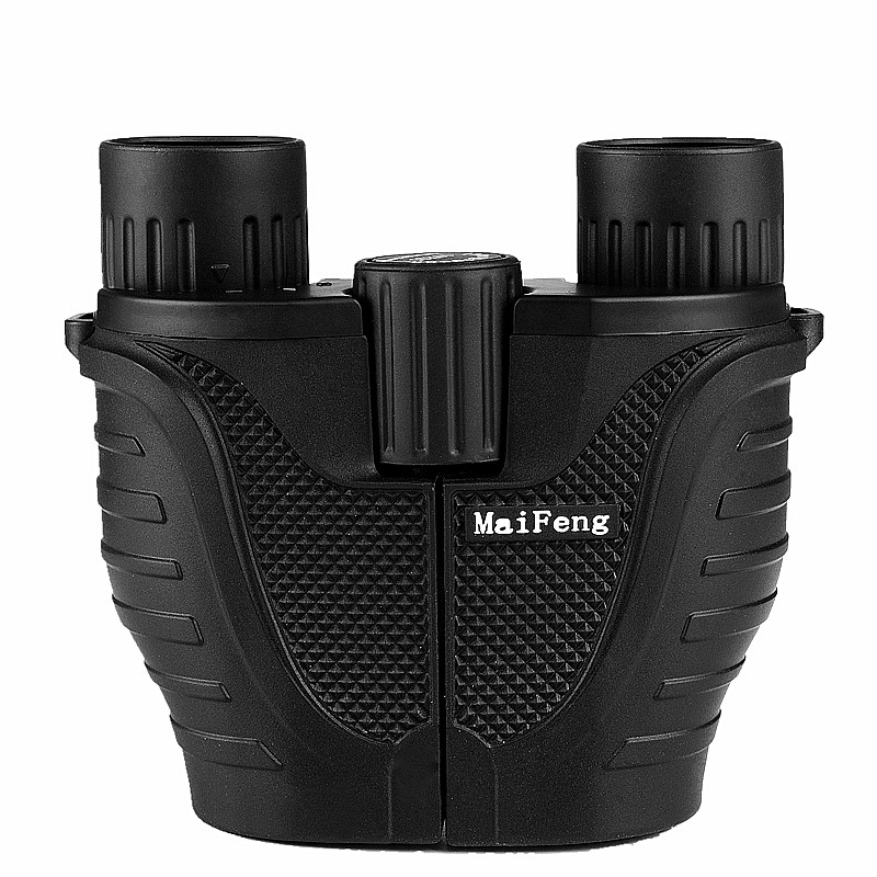 New 10x25 Mini Binoculars Professional Binocular Telescope Hd Waterproof Compact Monocular Porro prism Camping Lll Night Vision 2017 new waterproof night vision pirates mini monocular telescope 10x50 hd all optical blue film foldable monocular binoculars