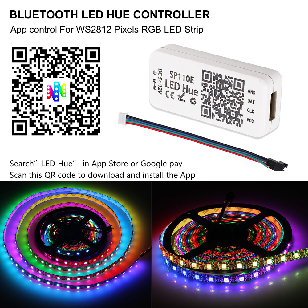lowest price 5M 10M LED Strip Lights 5050 RGB Colors Waterproof Outdoor LED Lighting Music Sync APP Remote Control Party Decoration Light