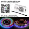 DC 5V WS2812B Bluetooth USB LED Strip 5050 APP Controller RGB individually addressable Led Strip Light WS2812 pixel strips Set promo