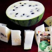 High quality 10G Green Skin White Flesh Watermelon Seeds, Sweet White Pear Watermelon fruit melon Seeds