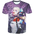 Camisa de t dos homens 3d Harley Quinn coringa do esquadrão suicida deadshot tshirt masculino Rick Flag mens camisas Bumerangue esquadrão Suicida