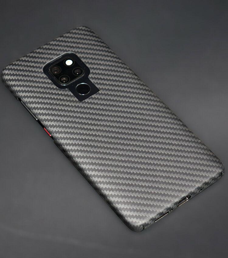 100% réel Fiber de carbone luxe pleins côtés protéger couverture Fibre mince étui pour huawei Mate 20 Pro 20X coque de téléphone noir mat