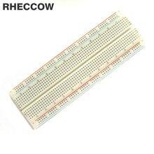 Rheccow 10 шт. MB102 Solderless Прототип Макет pcb 830 галстук точки MB-102