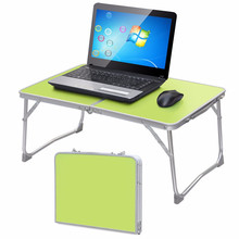 Moveable 360 Rolling Adjustable Picnic Folding Laptop computer Desk Stand Desk Picnic Mattress Couch Tray Pocket book Laptop Desk for Outing