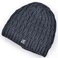 Hot sell winter hats for men knitted wool warm beanies for women beanie plus velvet snowboard mask cap bad hair day gorro touca